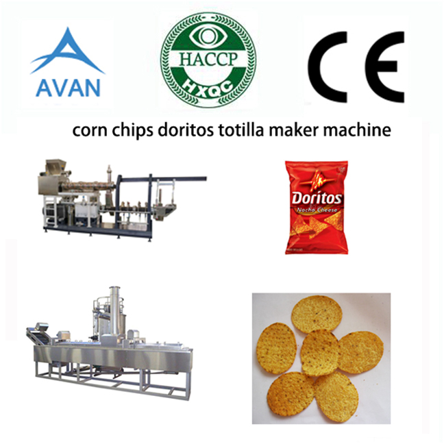 Automatic Doritos Making Machine