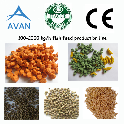 Fish Food Processing Line pellet extruder