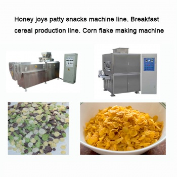 Honey joys patty snacks machine line