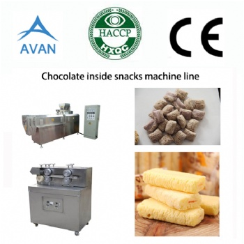 Corn Puff Making Machine Double Screw Extruder
