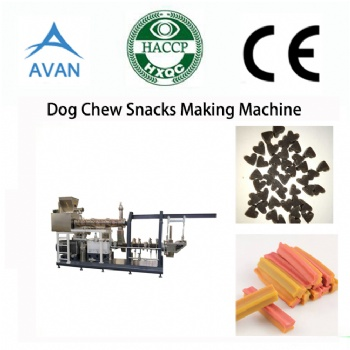 Dog treat chewing gum machine