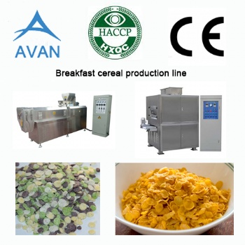 Corn Flakes Manufacturing Machine