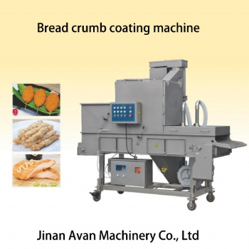 Automatic meat breaded machine