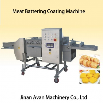 Automatic meat battering machine