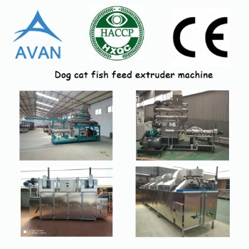 Automatic dog food machine