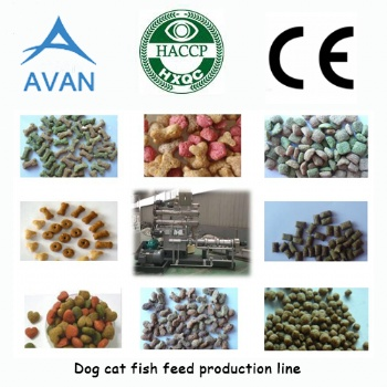 Automatic Pet Food Extrusion Machine
