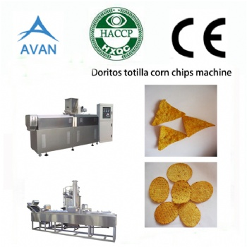 Corn tortilla machine corn chips