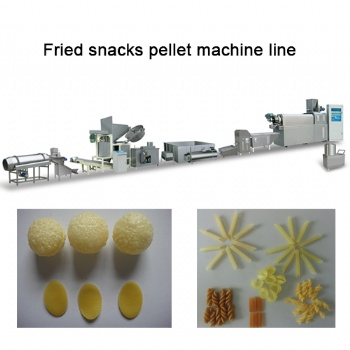 Fried Snacks Pellet Machine Price