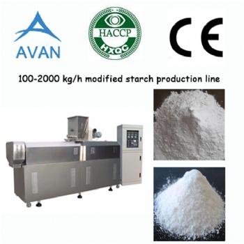 Modified food starch machine